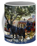 Ft Worth Stockyards Stagecoach  Coffee Mug