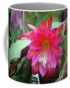 Fuchia Cactus Flower Coffee Mug