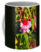 Fuchsia Enjoying The Sunshine Coffee Mug