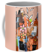 Fuddled Floral Coffee Mug
