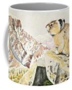 Fuertes, Louis Agassiz 1874-1927 - Burgess Animal Book For Children 1920 Pika Coffee Mug