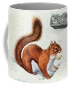Fuertes, Louis Agassiz 1874-1927 - Burgess Animal Book For Children 1920 Red Squirrel Coffee Mug