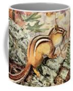 Fuertes, Louis Agassiz 1874-1927 - Burgess Animal Book For Children 1920 Striped Chipmunk Coffee Mug