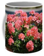Full Bloom Geraniums  Coffee Mug