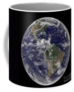 Full Earth Showing North America Coffee Mug