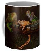 Full House Coffee Mug by Barbara Keith