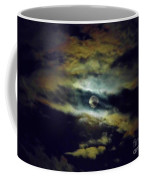 Full Moon And Clouds Coffee Mug