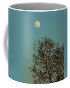 Full Moon At Sunset Coffee Mug