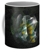 Abstract Full Moon Coffee Mug