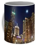 Full Moon Over Chi Town Coffee Mug