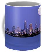 Full Moon Over Cleveland Coffee Mug