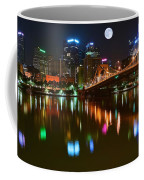 Full Moon Over Pittsburgh Coffee Mug