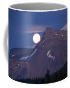 Full Moon Over The Rockies Coffee Mug