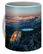 Full Moon Set Over Desolation Wilderness Coffee Mug