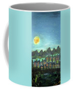 Full Moon Village Coffee Mug
