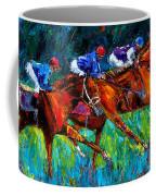 Full Speed Coffee Mug by Debra Hurd