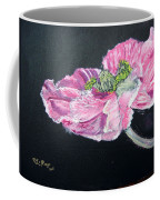 Fully Open Poppy Coffee Mug