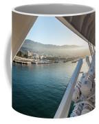 Funchal By The Ship Coffee Mug