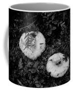 Fungi No 3 Bw Coffee Mug