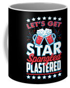 Funny Alcohol Fireworks Fourth July Gift 4th July Independence Day Coffee Mug
