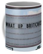 Funny Billboard  Coffee Mug
