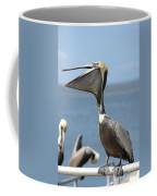 Funny Brown Pelican Coffee Mug