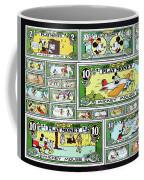 Funny Money Collage Coffee Mug