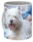 Funny View Of The Trimming Of West Highland White Terrier Dog Coffee Mug