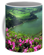 Furnas Lake Azores Coffee Mug