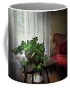 Furniture - Plant - Ivy In A Window  Coffee Mug by Mike Savad