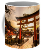 Fushimi Inari Taisha Shrine In Kyoto Coffee Mug