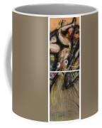 Fusion II - Diptych Coffee Mug