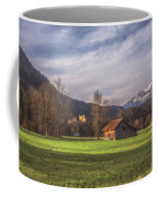 Fussen Mountain Scene Coffee Mug