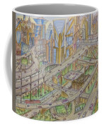 Future City After 50 Years Coffee Mug
