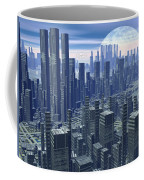 Futuristic City - 3d Render Coffee Mug