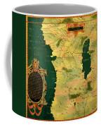 Gabon, Angola And Congo Coffee Mug