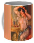 Gabrielle At The Mirror 1910 Coffee Mug