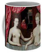 Gabrielle Destrees And Her Sister The Duchess Of Villars Coffee Mug