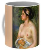 Gabrielle With A Rose The Sicilian Woman Coffee Mug
