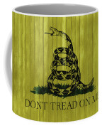 Gadsden Flag Barn Door Coffee Mug