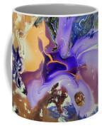 Galactic Portal. Abstract Fluid Acrylic Pour Coffee Mug
