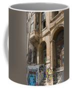 Galata Street Scene Coffee Mug