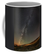 Galena Creek Bridge Under Summer Sky Filled With Milky Way And Mt. Rose In The Background Coffee Mug