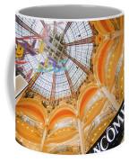 Galeries Lafayette Inside Art Coffee Mug