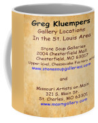 Gallery Locations In The St. Louis Area Coffee Mug