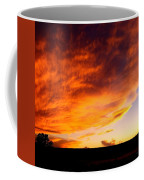 Gallo Peak Fiery Skies  Coffee Mug