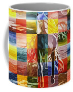 Galloping In The Night Coffee Mug