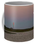 Galveston Island Strawberry Moon Sunset Coffee Mug