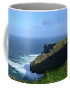 Galway Bay Churning Below The Cliffs Of Moher Coffee Mug