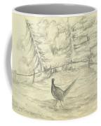 Game Bird By W  Buelow Gould  C 1835  Coffee Mug